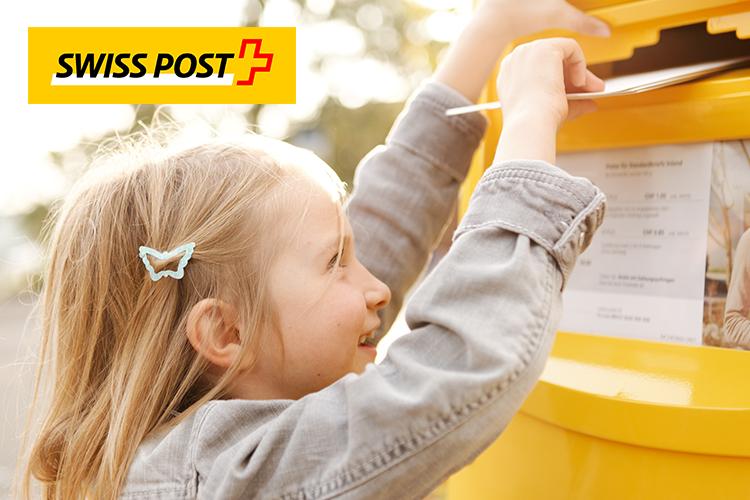 Referenzen - Swiss Post - Solutions - Mädchen - Postkasten